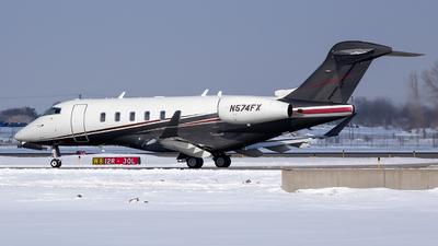 N574FX - Bombardier BD-100-1A10 Challenger 350 - Flexjet