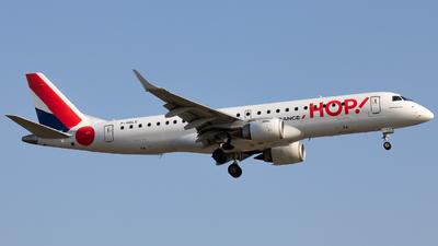 F-HBLE - Embraer 190-100LR - HOP! for Air France