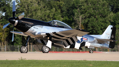 NL51HY - North American F-51D Mustang - Private