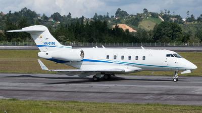 HK-5186 - Bombardier BD-100-1A10 Challenger 300 - Internacional Ejecutiva de Aviación