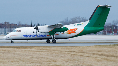C-FPPW - Bombardier Dash 8-106 - Provincial Airlines