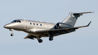 LX-JET - Embraer EMB-545 Legacy 450  - Global Jet Luxembourg