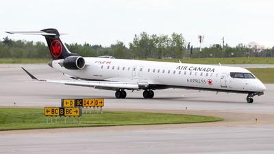 C-FLJZ - Bombardier CRJ-900LR - Air Canada Express (Jazz Aviation)