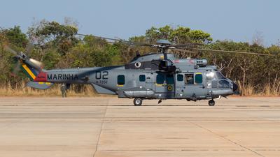 N-7202 - Eurocopter EC 725 Super Cougar - Brazil - Navy