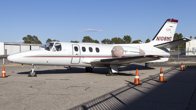 N108MC - Cessna 500 Citation 1 - Private