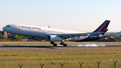 OO-SFC - Airbus A330-343 - Brussels Airlines