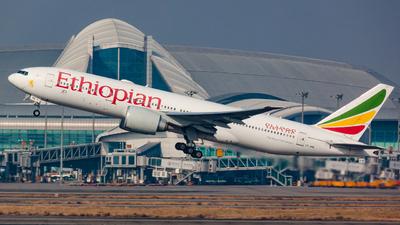 ET-ANQ - Boeing 777-260LR - Ethiopian Airlines
