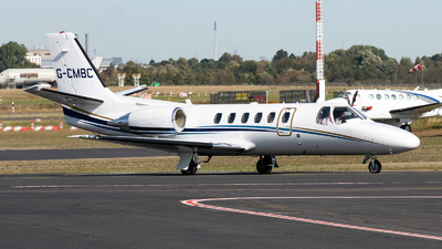 G-CMBC - Cessna 550B Citation Bravo - Private