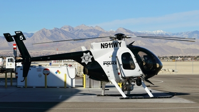 N911WY - MD Helicopters MD-530F Lifter - United States - Las Vegas Metropolitian Police