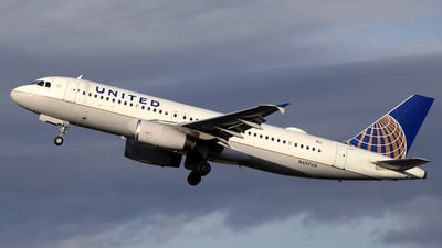 N437UA - Airbus A320-232 - United Airlines