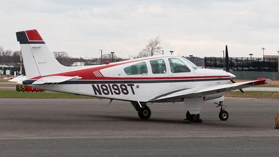 N8198T - Beechcraft F33A Bonanza - Private