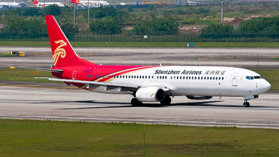 A picture of B5102 - Boeing 73797L - Shenzhen Airlines - © ZUCKGYQ