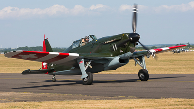 HB-RCF - Morane-Saulnier D-3801 - Private