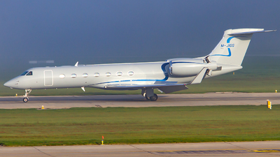 M-JIGG - Gulfstream G550 - Private