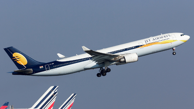VT-JWR - Airbus A330-302 - Jet Airways