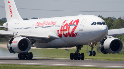 G-VYGM - Airbus A330-243 - Jet2.com (Air Tanker)