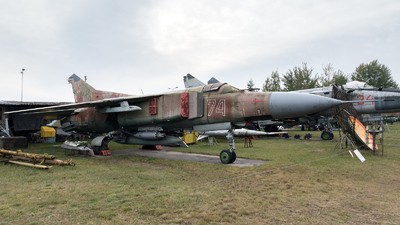 74 - Mikoyan-Gurevich MiG-23ML Flogger G - Russia - Air Force