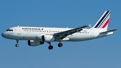 F-HBNA - Airbus A320-214 - Air France