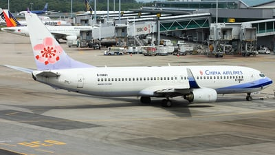 B-18601 - Boeing 737-809 - China Airlines