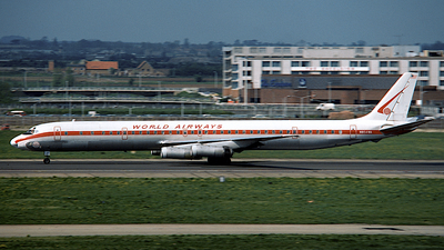 N804WA - Douglas DC-8-63(CF) - World Airways