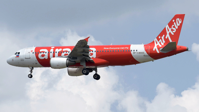 A picture of RPC8965 - Airbus A320216 - AirAsia - © sliewaviation