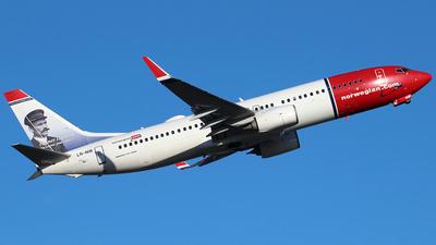 LN-NIB - Boeing 737-86J - Norwegian