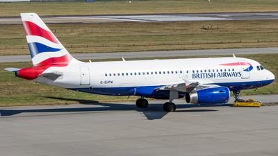 A picture of GEUPW - Airbus A319131 - British Airways - © Jan Par