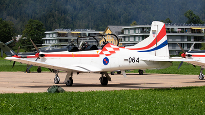 064 - Pilatus PC-9M - Croatia - Air Force