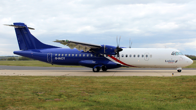 A picture of GIACY - ATR 72600 - Eastern Airways - © n94504