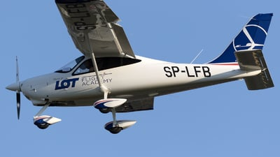 SP-LFB - Tecnam P2008JC - LOT Flight Academy