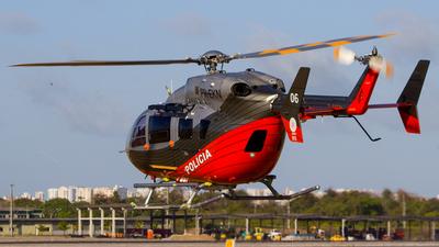 PR-EKN - Eurocopter EC 145 - Brazil - CIOPAER Ceará