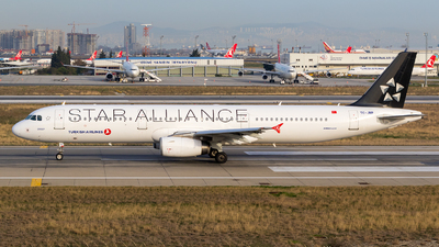 TC-JRP - Airbus A321-231 - Turkish Airlines