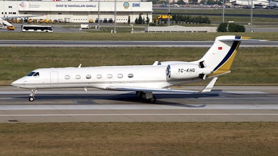 TC-KHG - Gulfstream G550 - Private