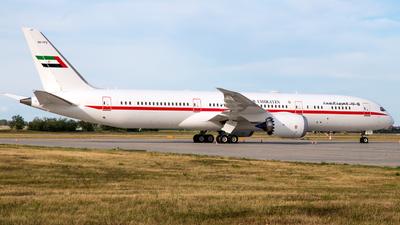 A6-PFE - Boeing 787-9 Dreamliner - United Arab Emirates - Abu Dhabi Amiri Flight