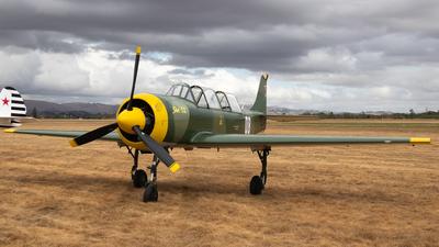 ZK-KEV - Yakovlev Yak-52 - Private
