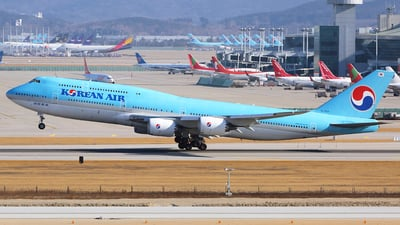 HL7631 - Boeing 747-8B5 - Korean Air