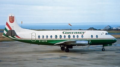 G-AOYG - Vickers Viscount 806 - Guernsey Airlines