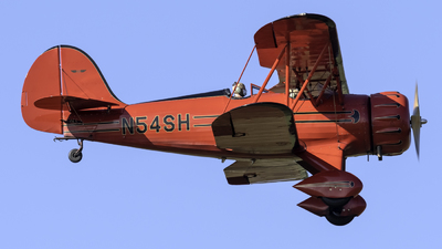 N54SH - Waco YMF-5 - Private