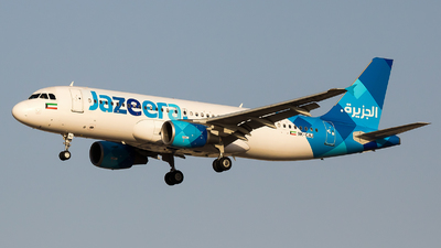 9K-CAJ - Airbus A320-214 - Jazeera Airways