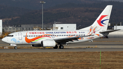 A picture of B6141 - Boeing 73779P - China Eastern Airlines - © Zhangliming