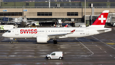 A picture of HBJCE - Airbus A220300 - Swiss - © Kris Van Craenenbroeck