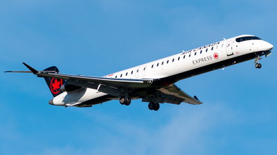 C-GCJZ - Bombardier CRJ-900LR - Air Canada Express (Jazz Aviation)