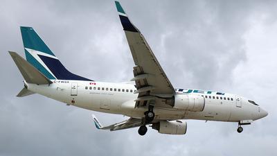 C-FWSX - Boeing 737-7CT - WestJet Airlines
