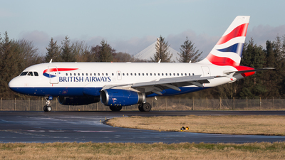 A picture of GEUPD - Airbus A319131 - British Airways - © Rolf Jonsen
