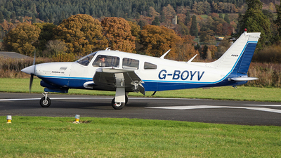 G-BOYV - Piper PA-28R-201T Turbo Cherokee Arrow III - Private