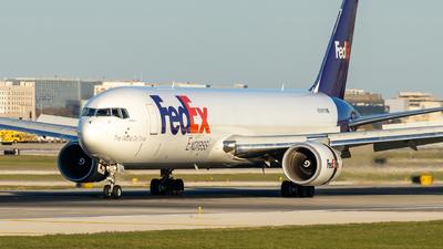 N296FE  - Boeing 767-3S2F(ER) - FedEx