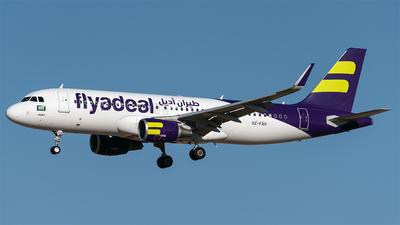 HZ-FAH - Airbus A320-214 - Flyadeal