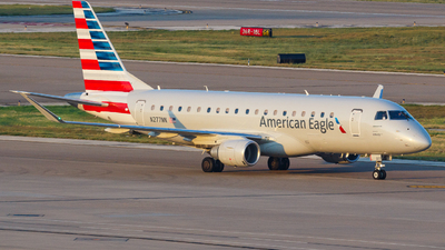 A picture of N277NN - Embraer E175LR - American Airlines - © Kevin Chung - AHKGAP
