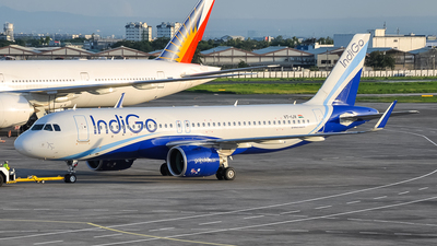 A picture of VTIJV - Airbus A320271N - IndiGo - © 5J Marcus Gianan