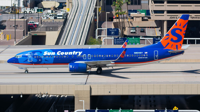 A picture of N804SY - Boeing 7378Q8 - Sun Country Airlines - © Taxi_Way_